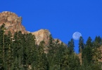 Moon over Lassen - Davies