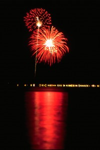 D70.Fireworks-Lake Almanor