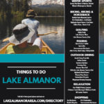 Summer 2020 Things to Do, Lake Almanor